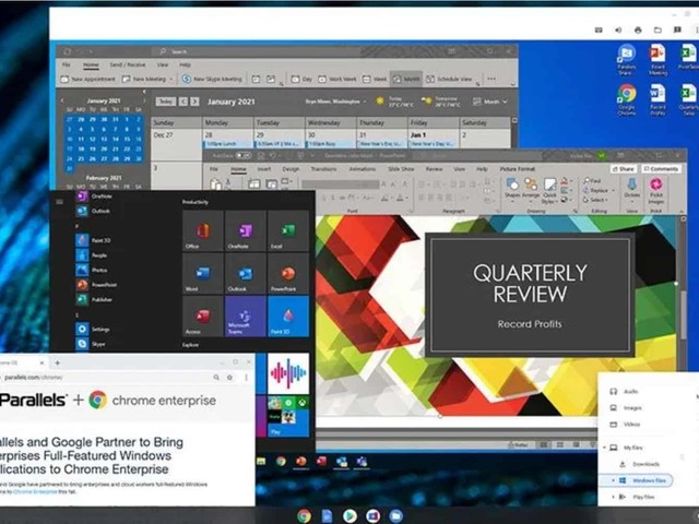 Windows 10 tourne désormais sur les Chromebook grâce à Parallels