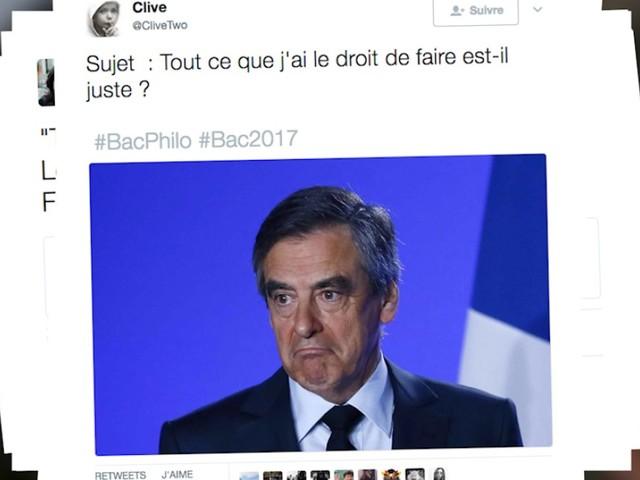 Bac 2017: dans les sujets de philo, il y avait un peu de Fillon ou de Bayrou