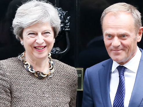 Brexit: Européens et Britanniques se retrouvent lundi pour un 5e round de négociations