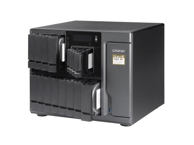 QNAP ajoute le TS-1677X à sa gamme de NAS Ryzen