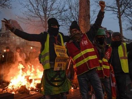 Réforme des retraites en France - Nouvelle journée interprofessionnelle de grèves et manifestations le 16 janvier