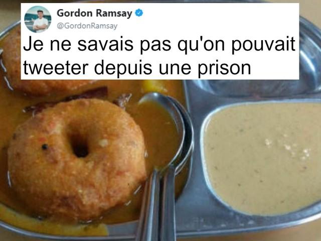 Top 15 des meilleures réponses de Gordon Ramsay sur Twitter, que pensez-vous de mon plat ?
