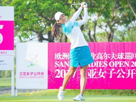 Golf - LET - Sanya Open 2017 : Céline Boutier toujours devant