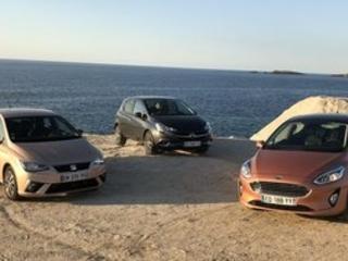Essai Comparatif : Ford Fiesta, Opel Corsa ou Seat Ibiza, laquelle choisir ?