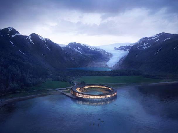 Stunning Arctic Energy Positive Hotel