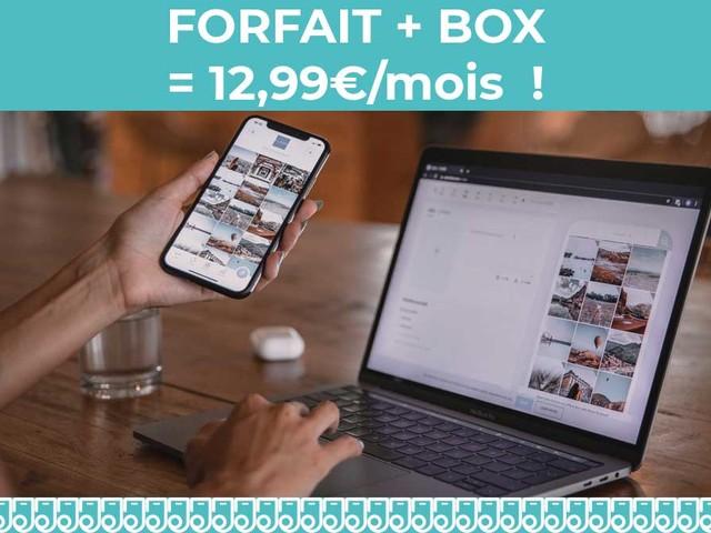 Une box internet et un forfait mobile pour moins de 13€/mois !