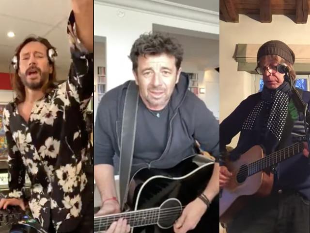 Jean-Louis Aubert, Patrick Bruel, Bob Sinclar... La tournée musicale des concerts confinés
