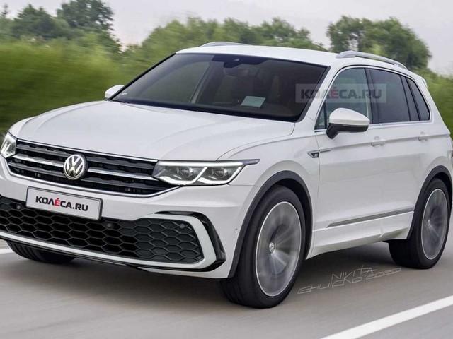 A quoi ressemblera le futur Volkswagen Tiguan ?