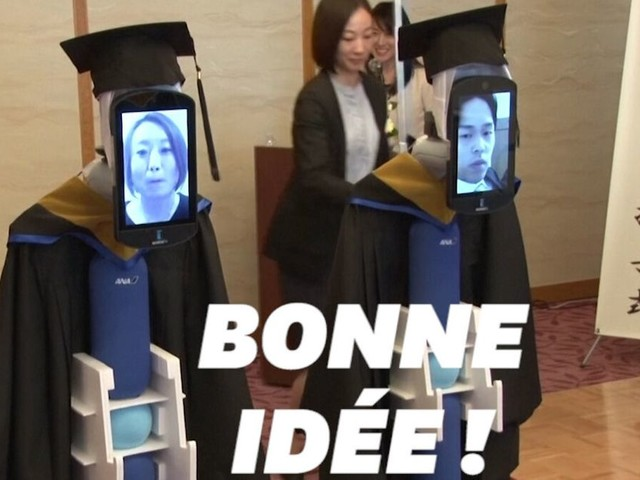 Malgré le coronavirus, ces étudiants japonais ont assisté à leur remise de diplômes