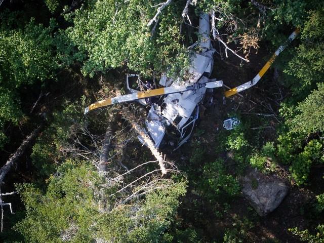 Hélicoptère du président de Savoura retrouvé: le BST débute l'enquête