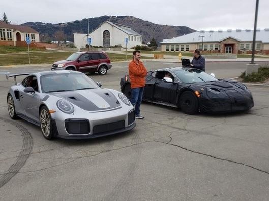 La Corvette C8 Z06 développée aux côtés de la Porsche 911 GT2 RS