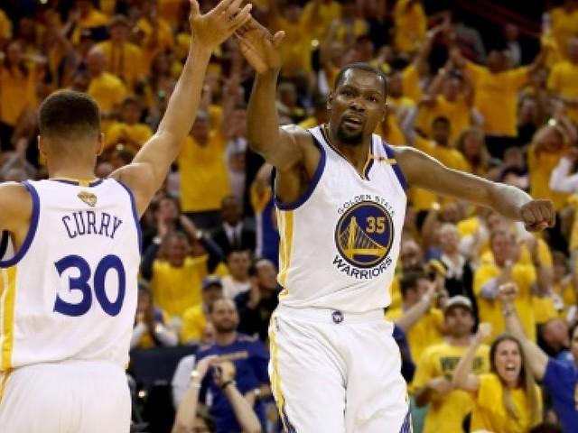 NBA: Curry et Durant n'ont pas perdu de temps à Golden State