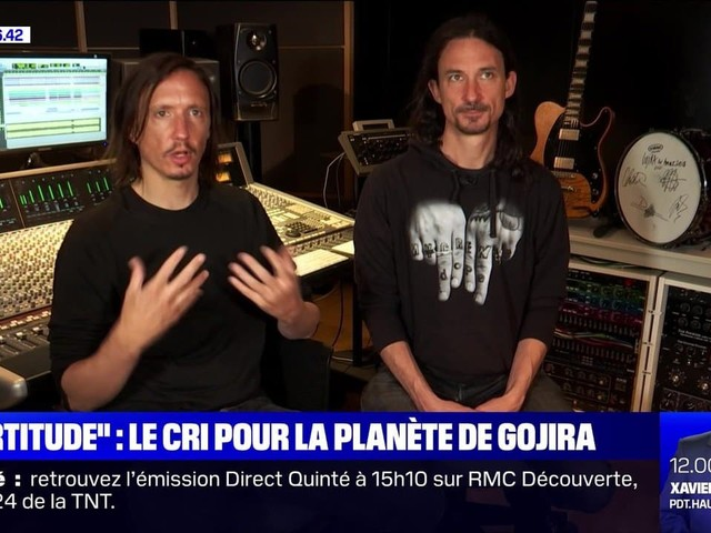 """""""Fortitude"""" : le cri pour la planète de Gojira - 02/05"""