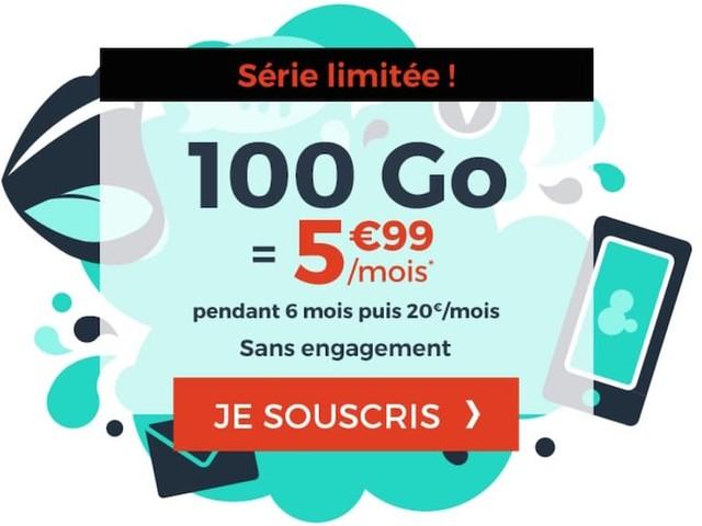Forfait 100 Go à seulement 5,99€, l'offre mobile immanquable de Cdiscount