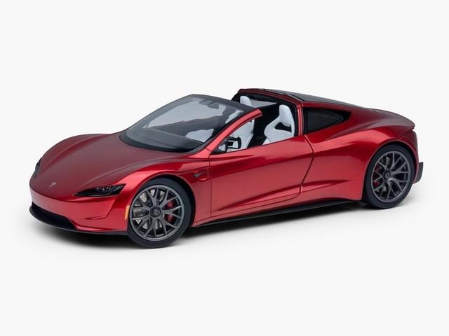 La Tesla Roadster finalement lancée ... en miniature