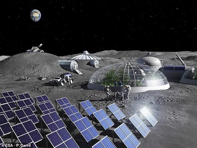 l'ESA a trouvé une technique pour créer de l'oxygène à partir de poussière lunaire