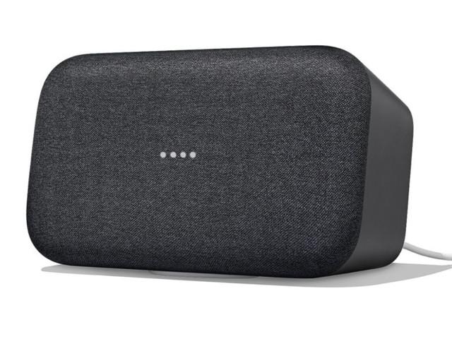 L'enceinte intelligente XXL Google Home Max à 200 € chez Darty
