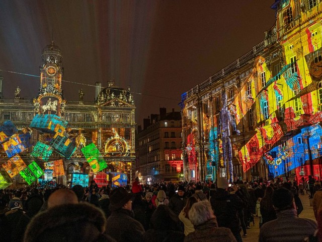 La Fête des Lumières à Lyon frappée de plein fouet par les grèves