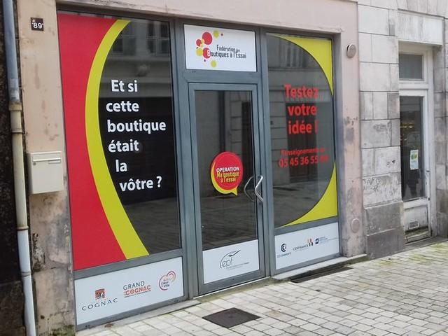 """Cognac : des """"boutiques à l'essai"""" pour relancer le commerce en centre-ville"""