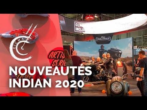 Nouveautés motos Indian 2020