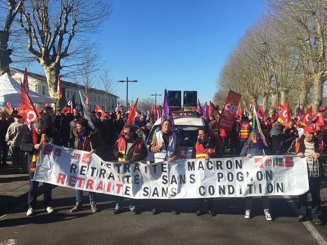 Réformes des retraites : les manifestants landais ne croient pas aux négociations