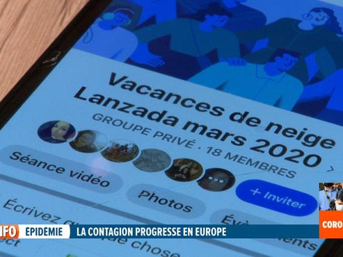 """Classes de neige en Italie: la Ville d'Andenne annule ce voyage à cause de """"l'évolution inquiétante du coronavirus"""""""