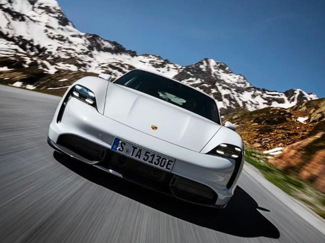 Porsche Taycan Turbo EV : elle offre la moitié de l'autonomie de la Tesla Model S