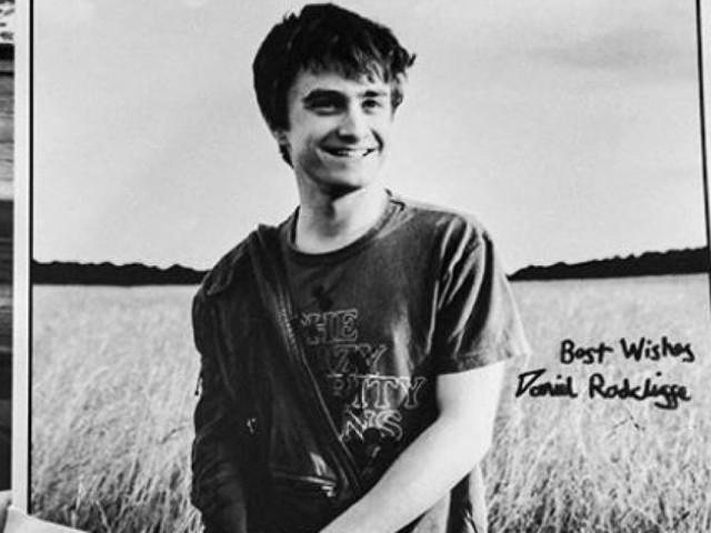 Daniel Radcliffe a envoyé une carte de vœux à cette mamie française... qui ne le connaît pas