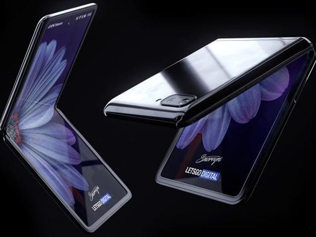 Galaxy Z Flip : Samsung dévoile le design de son nouveau smartphone pliable