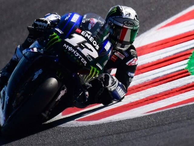 MotoGP: Vinales en pole devant un surprenant Espargaro au GP de Saint-Marin