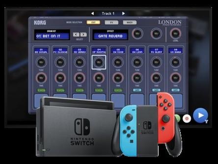 Korg Gadget pour Nintendo Switch : ou comment composer de la musique sur console