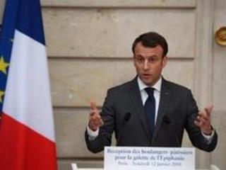 """Accord sur le nucléaire iranien - Macron rappelle le """"nécessaire respect"""" de l'accord nucléaire"""