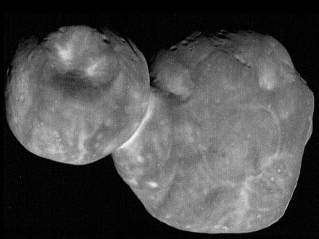 L'astéroïde Ultima Thulé débaptisé par la Nasa