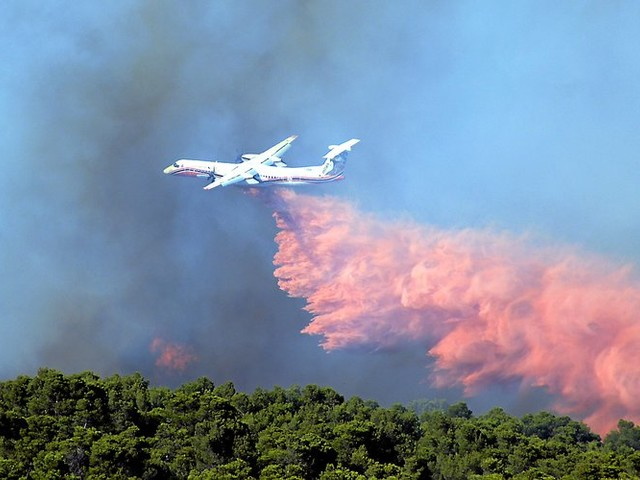 Aude : le feu de Conques fixé dans la nuit, 150 hectares détruits, encore 500 pompiers sur place