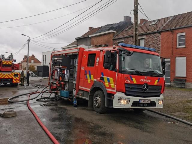 Une dame de 57 ans meurt dans un terrible incendie à Ransart: «Quand on a appelé les pompiers, c'était malheureusement déjà trop tard pour elle»