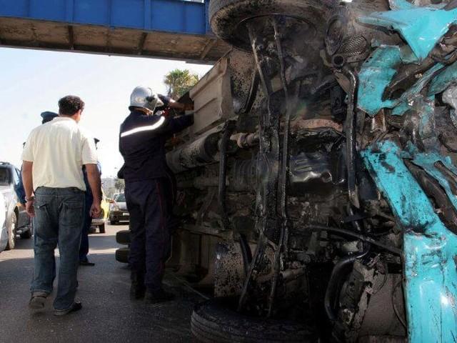 Plusieurs morts dans un terrible accident près de Marrakech