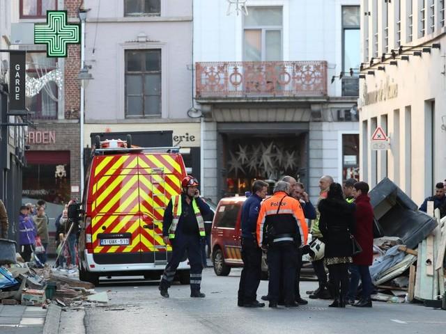 Au moins un mort dans l'effondrement d'un bâtiment à Mons: les ouvriers blessés n'étaient pas déclarés, selon l'auditorat