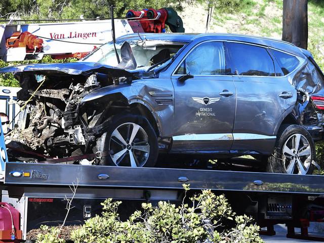 """Golf : après son accident de la route, Tiger Woods a été opéré et est """"conscient"""""""