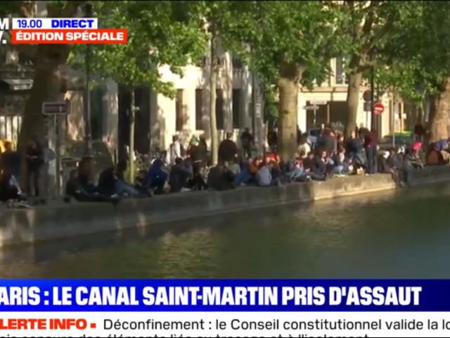 Réunion de jeunes alcoolisés à Paris : pour le déconfinement, BFM devient auxiliaire de police