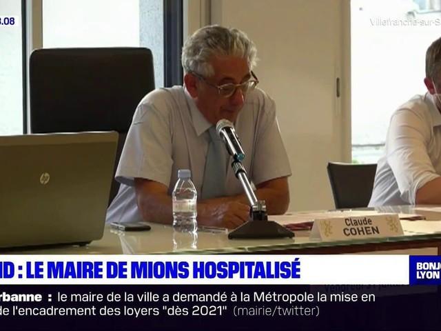 Testé positif au Covid-19, le maire de Mions hospitalisé