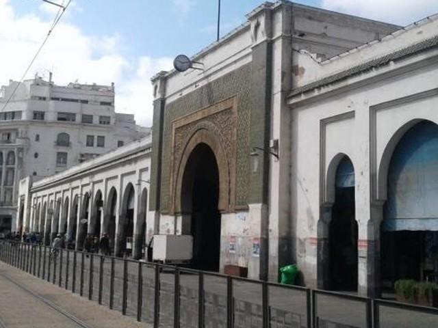 """Le marché central de Casablanca deviendra un """"marché gastronomique"""""""