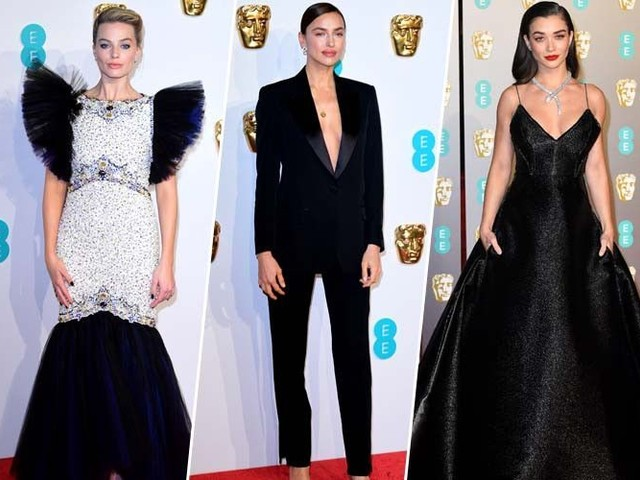 Margot Robbie, Irina Shayk, Cate Blanchett... zoom sur le tapis rouge des BAFTA