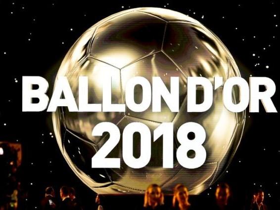 Les tops 5 les plus fous du Ballon d'Or 2018