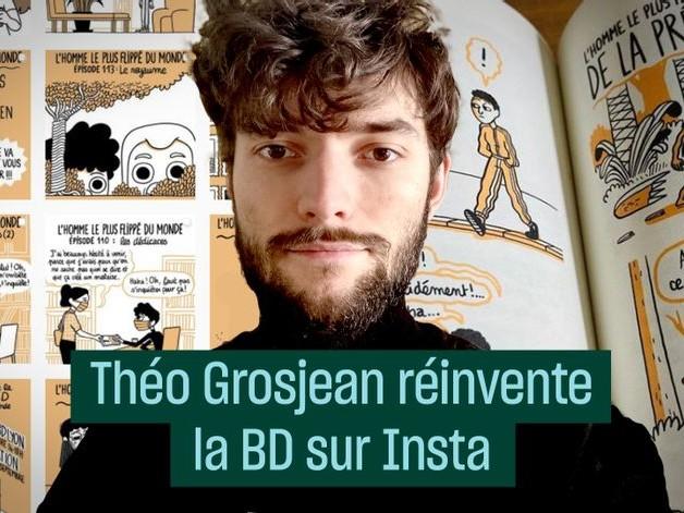 Théo Grosjean réinvente la BD sur Instagram