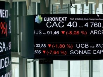La Bourse de Paris en baisse de 0,84%, se cramponne aux 5.000 points
