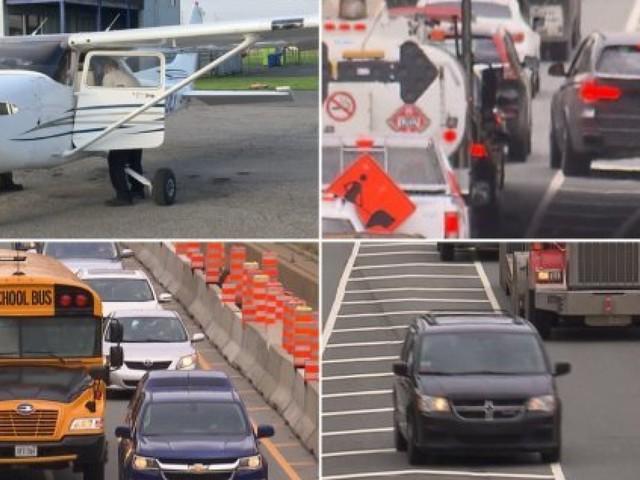 Un avion de la SQ pour traquer ceux qui coupent la file aux sorties d'autoroutes