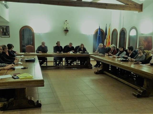 Premier conseil municipal de l'année à Saint-Jean-Pla-de-Corts