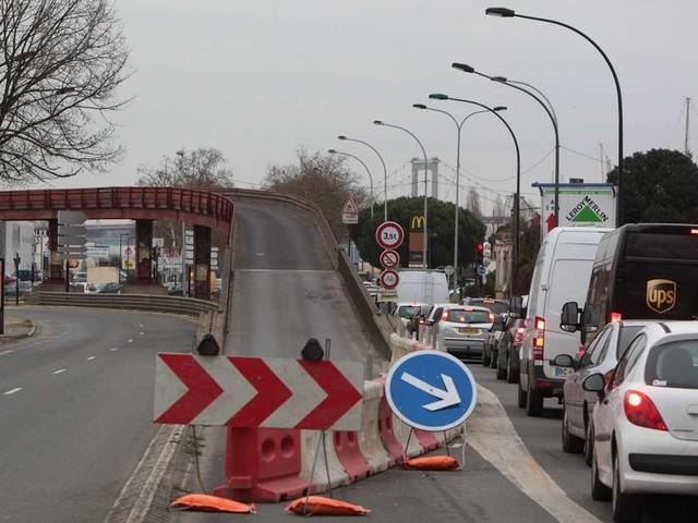 Bordeaux : accident sur l'autopont Latule, les travaux de réparation vont durer trois semaines