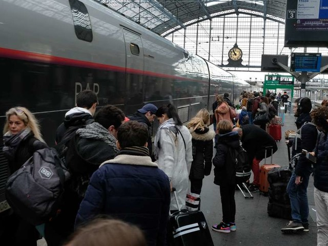 Bordeaux : départs en vacances dans le calme à la gare malgré la grève SNCF