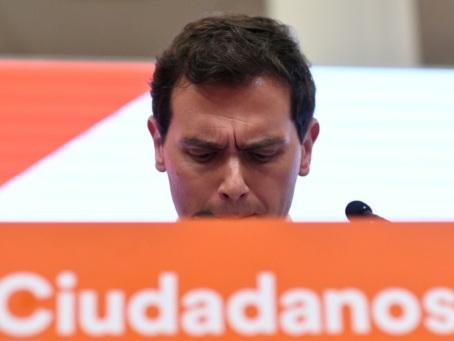 Espagne: le chef de Ciudadanos balayé par son échec aux législatives